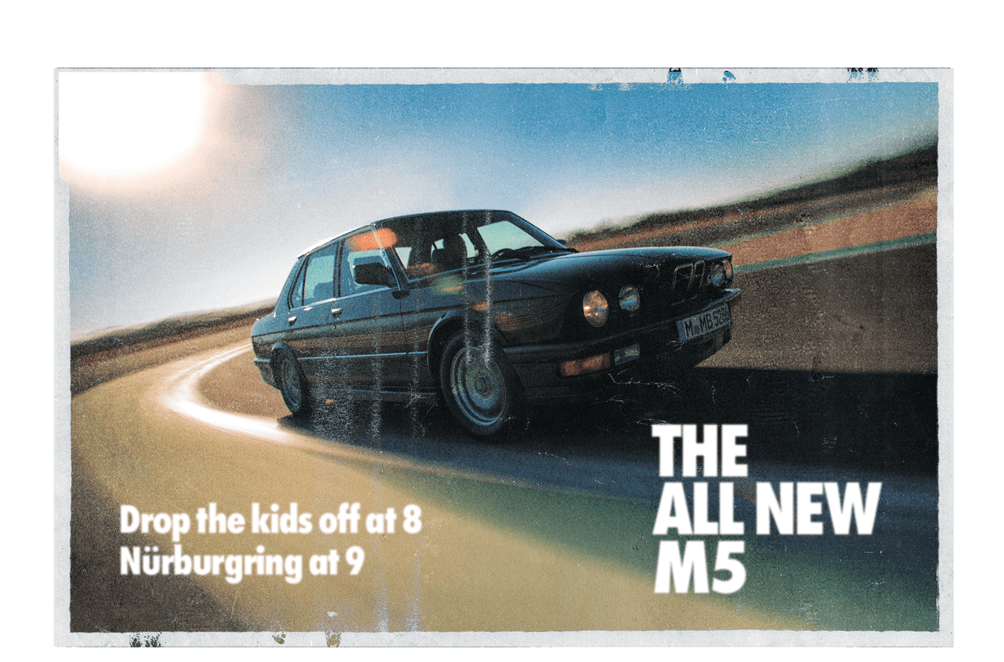 The All New BMW M5 Poster
